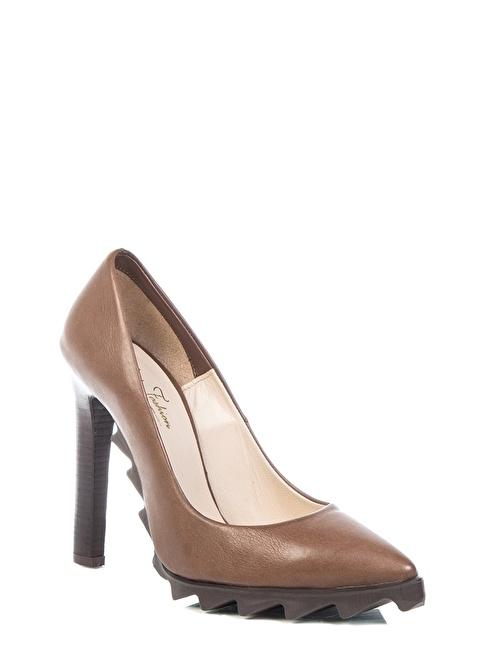 Love'n Fashion Paris Ayakkabı Kahve